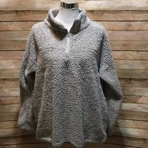 Wooly pullover Gray